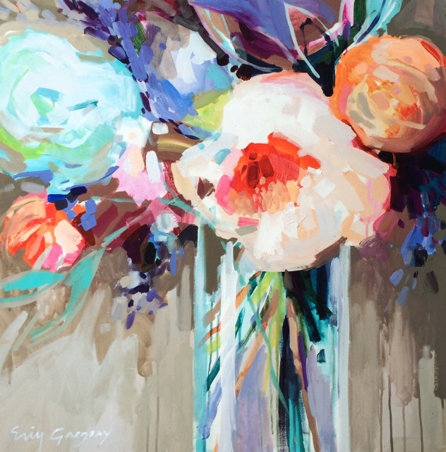 May flowers for Atlanta oil painting artists
